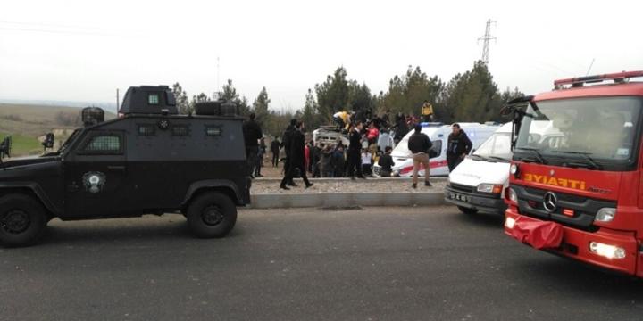 Diyarbakır'da Saldırı: 3 Polis Vefat Etti!