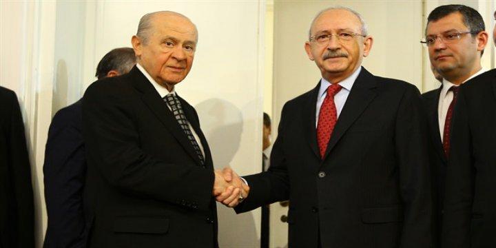 Kılıçdaroğlu ve Bahçeli Görüşmesi Sona Erdi