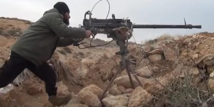 Barada Vadisi'nde Direnişçiler Esed'e Karşılık Veriyor! (Video)