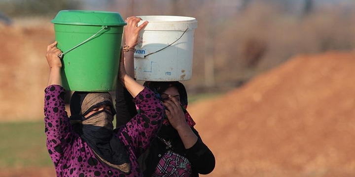"""Suriye'de Milyonlarca İnsan Susuz"""
