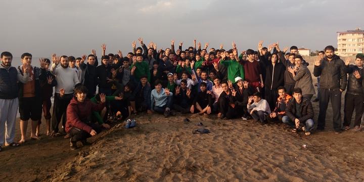 Özgür-Der Lise Gençliği'nin İskenderun Kampında 3. Gün