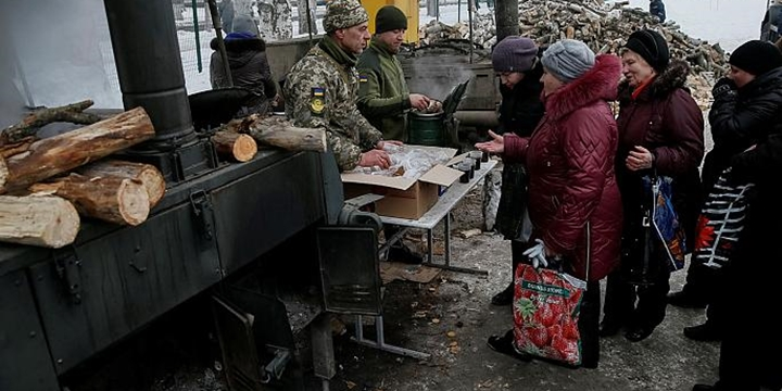Ukrayna'nın Doğusundaki Siviller Acil Yardıma Muhtaç!