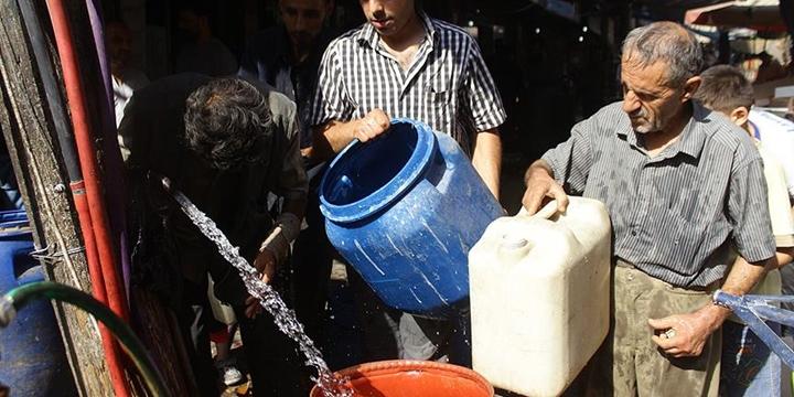 Halep'teki Su Sıkıntısı Devam Ediyor!