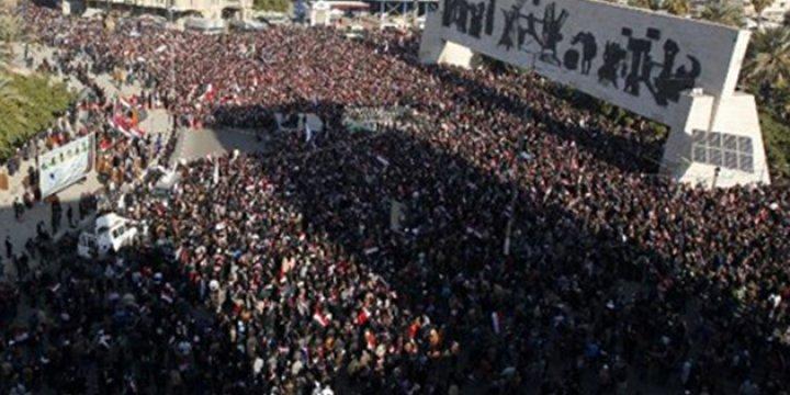Irak'ta Sadr Destekçilerinin Protesto Eyleminde 5 Gösterici Öldü