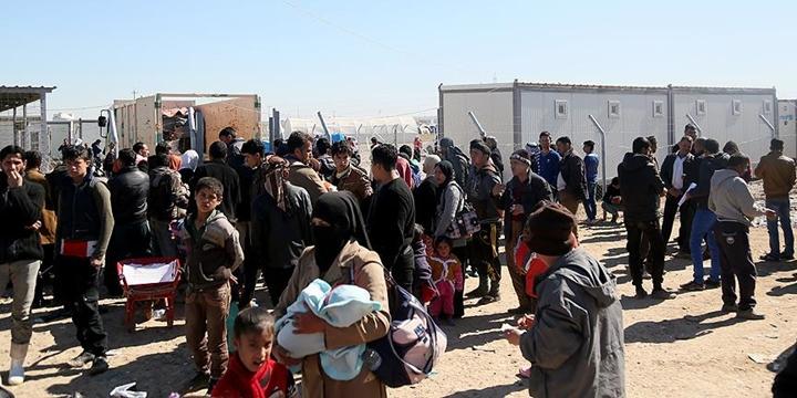 """""""Musul'un Batı Yakasından 450 Sivil Güvenli Bölgelere Geçti"""""""