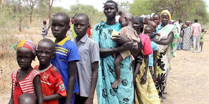 Güney Sudan'da Açlık Alarmı Verildi!