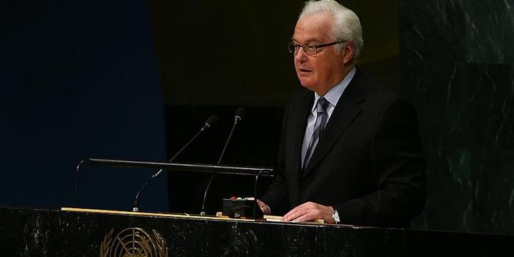 Rusya'nın Birleşmiş Milletler Temsilcisi Çurkin Öldü