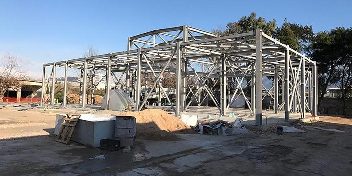 Atina'daki Cami İnşaatı Nisanda Tamamlanacak