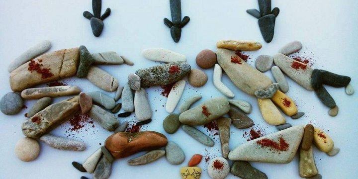 Nizar Ali Badr, Suriye Zulmünü Çakıl Taşlarına Nakşetti