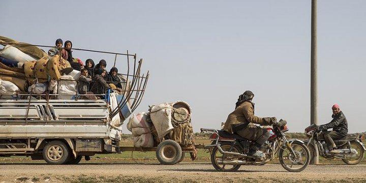 Esed Güçlerinin Kontrolündeki Tadif'ten 2 Bin Kişi Göç Etti