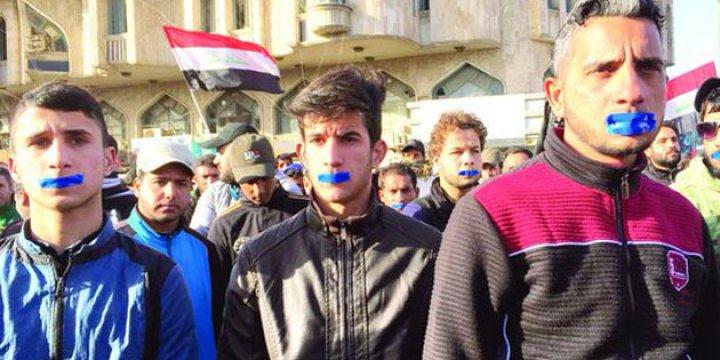 Irak'ta İbadi'ye Protesto