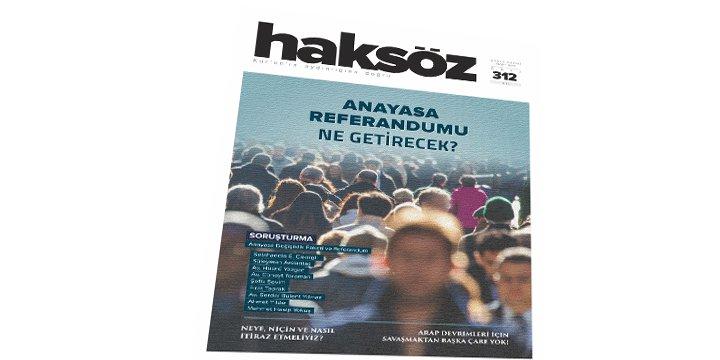 Haksöz Dergisinin Mart 2017 Sayısı Çıktı!
