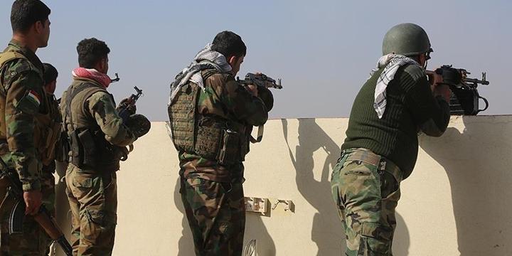 PKK'lı Militanlarla Suriyeli Peşmergeler Sincar'da Çatıştı