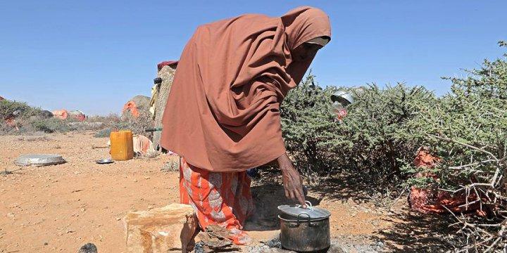 Somali'de Son 2 Günde 110 Kişi Açlıktan Öldü
