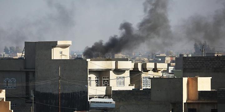 """""""Musul'da Ailelerin Bulunduğu Binalar Hedef Alınıyor"""""""