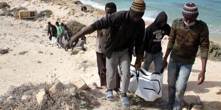 Trablus Sahiline 20 Göçmenin Cansız Bedeni Vurdu!