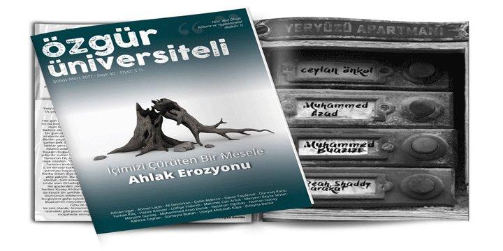 Özgür Üniversiteli Dergisinin 40. Sayısı Çıktı