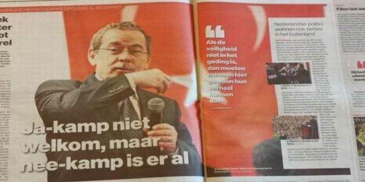 Yerel Gazetede Bile Yer Bulmayan Adam 1 Milyon Tirajlı Gazetede Yer Buluyorsa