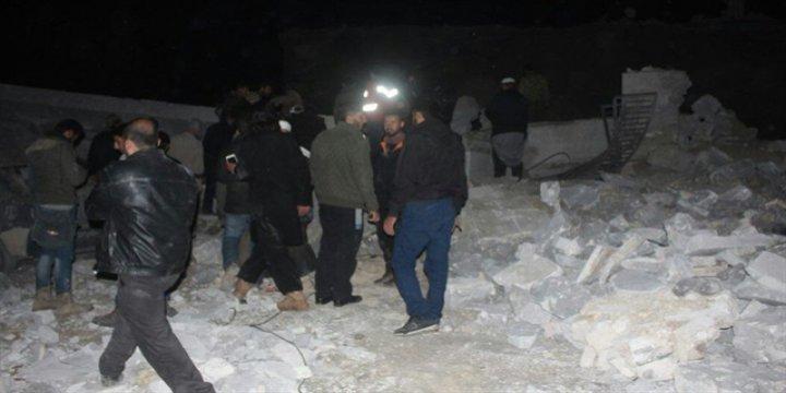 Jetler Halep'te Camide Namaz Kılan 70 Müslümanı Katletti