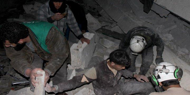ABD Halep'teki Cami Katliamını Kabul Etti