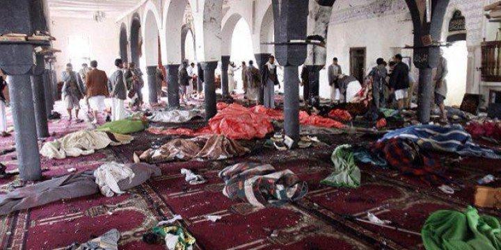 İran Destekli Husiler Cuma Namazı Vaktinde Katliam Yaptı