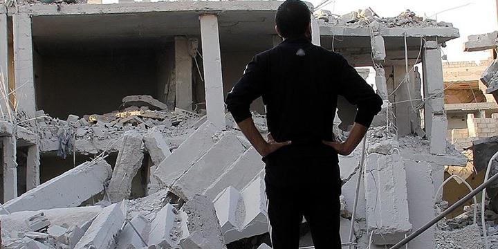 """""""Dera Mülteci Kampı'nın Yüzde 70'inden Fazlası Yıkılmış Durumda"""""""