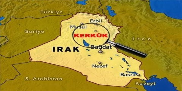 Kerkük'te Kürtçe ve Irak Kürdistanı Bayrağı Gerilimi
