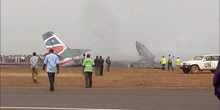 Sudan'da Yolcu Uçağı Düştü: 44 Ölü