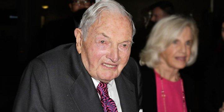 Karanlık Güç David Rockefeller 101 yaşında Öldü