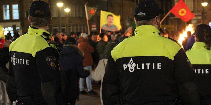 """Hollanda'dan PKK'nın """"Hayır!"""" Gösterisine izin"""