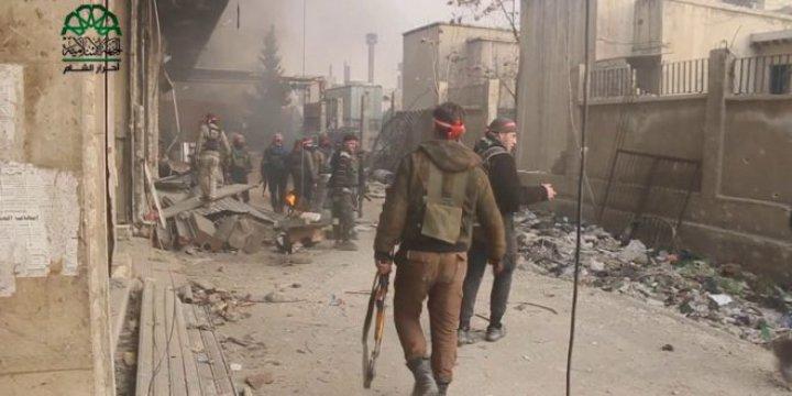 Ahraru'ş Şam, Şam – Cobar Operasyonu Görüntülerini Paylaştı