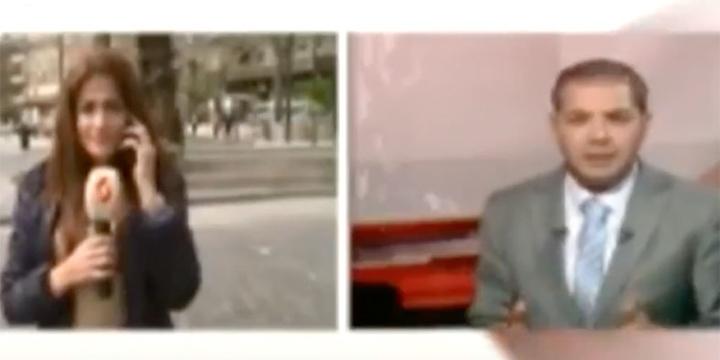 Esed'in Muhabiri Canlı Yayında Yalan Söylerken Yakalandı!