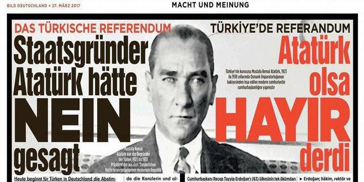 Alman Bild Gazetesi 'Hayır' Cephesine Hizmette Sınır Tanımıyor!