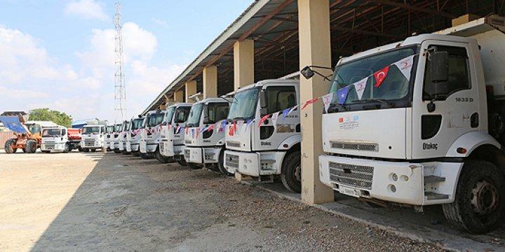 Somali'ye 30 Milyon Dolarlık Ekipman Yardımı Ulaştırıldı