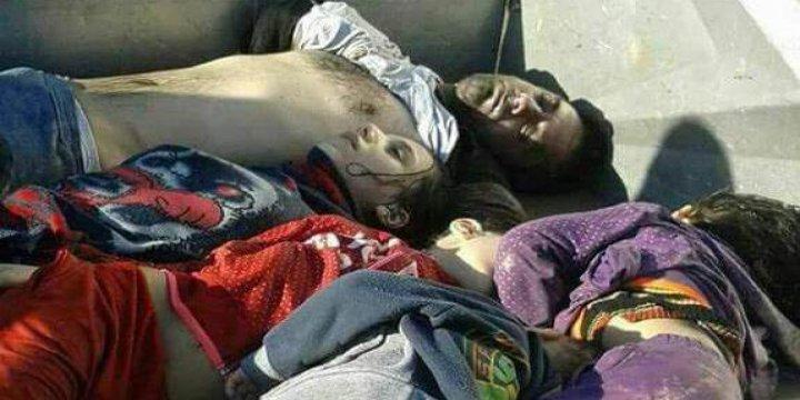 İdlib'de Kimyasal Katliam: Onlarca Ölü ve Yüzlerce Yaralı Var!