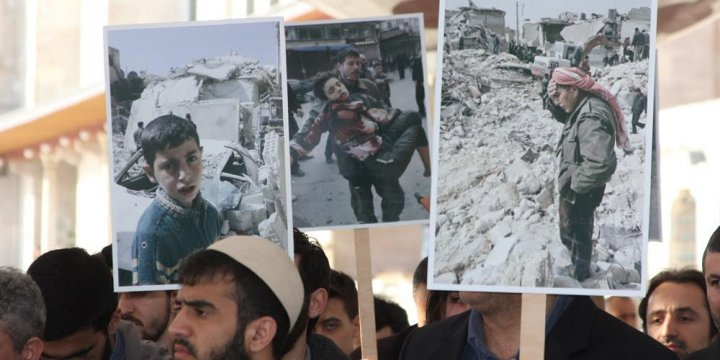 Kimyasal Katliamda Katledilenler İçin Fatih'te Gıyabi Cenaze Namazı Kılındı