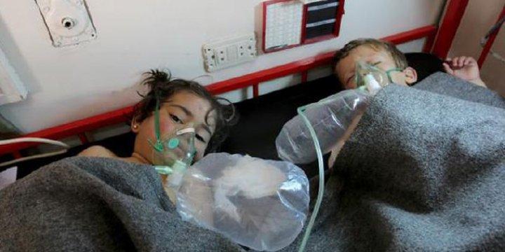 ABD'den Teşvik Rusya'dan Destek, Esed'ten Katliam