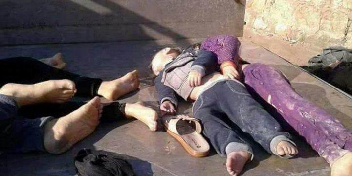 Suriyelilerin Konvansiyonel Silahlarla Katledilmeleri Sorun Değil mi?