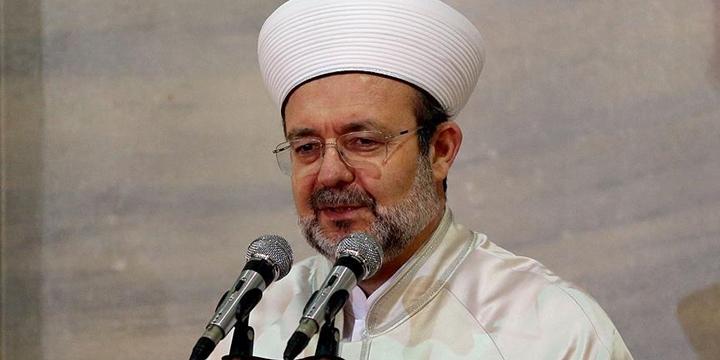 Mehmet Görmez: Küresel Güçler İslam'ı Düşman İlan Etti