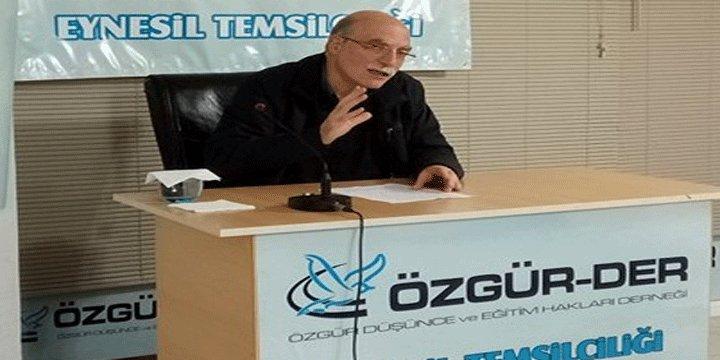 Eynesil'de 'İslami Şahsiyetin İnşası' Semineri Yapıldı