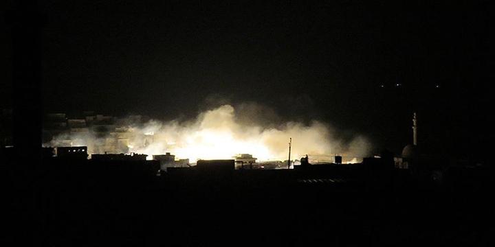 Halep'in Batısına Fosfor Bombalı Saldırı Düzenlendi!