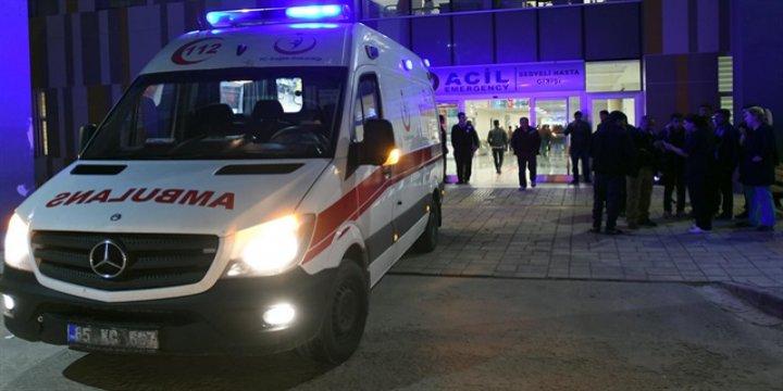 AK Parti Muradiye İlçe Başkanı'na Silahlı Saldırı