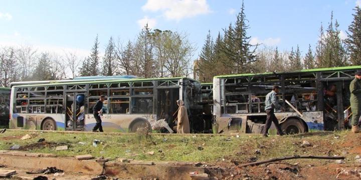 Ahraru'ş-Şam'dan Tahliye Konvoyuna Dönük Saldırıya Dair Açıklama