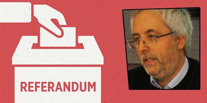16 Nisan Referandumu: Dostun Sevinci Neden Buruk? Yılmaz Çakır Yorumladı