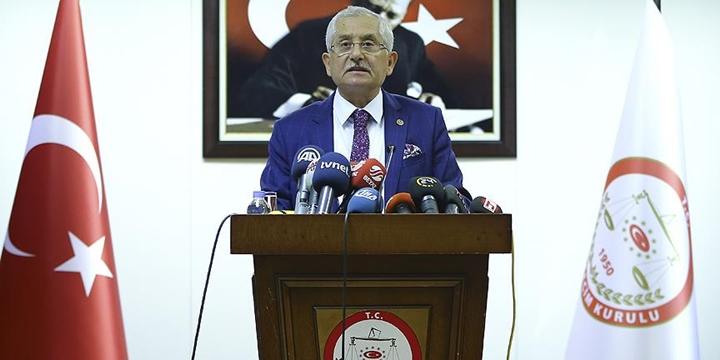 YSK Başkanı Güven: İtirazlara Öğleden Önce Bakacağız