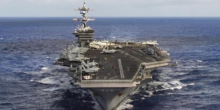 ABD Savaş Gemilerinin Rotasını Kore'den Avustralya'ya Çevirdi!