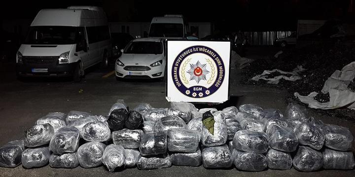 Diyarbakır'da 2 Ton 840 Kilogram Esrar Ele Geçirildi!