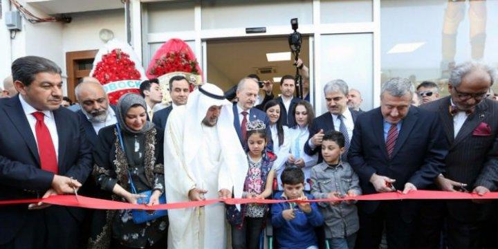 Suriyeli Çocuklar İçin Yüksek Teknolojili Protez Merkezi Dualarla Açıldı