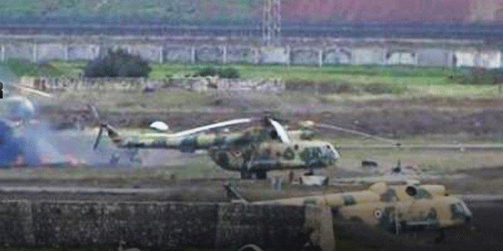 Hama Havalimanını Hedef Alan Muhaliflerden Esed ve İran'a Darbe