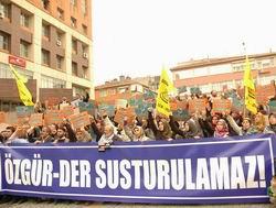Özgür-Dere Kapatma Davası Protesto Edildi!